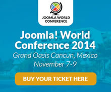 Joomla! World Conference 2014, November 7-9, 2014